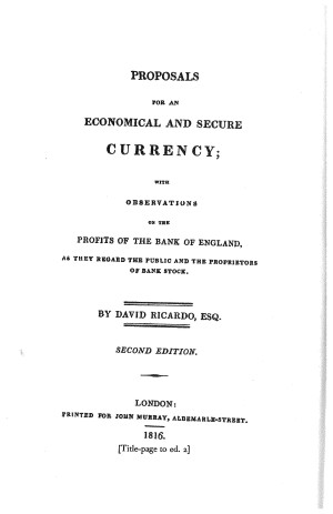 essay on profits ricardo David ricardo this essay david ricardo and other 63,000+ term papers, college essay examples and free essays are available now on reviewessayscom in 1815, he published his groundbreaking essayon profits and articulated what has become one of the most famous laws of economics.