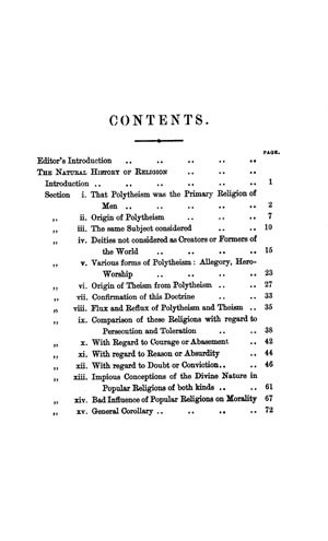 Online Library of Liberty - The Natural History of Religion