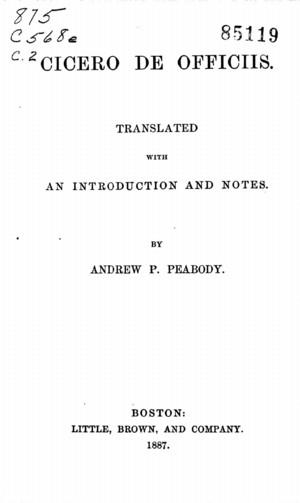 marcus tullius cicero essay Contextual translation of cicero into greek human translations with examples: σίσερο (cc), cicero (del.